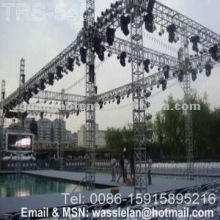 Aluminum assembled light speaker truss structure
