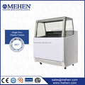 CE Approved commercial equipment single row small ice cream freezer for supermarket