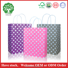 Luxury Supermarket Shopping Paper Bag For Clothes