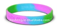 100% debossed custom sport silicone rubber armbands