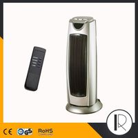 080213 2000W Rotating Space digital Fan Heater tower electric heater