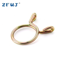 Top Quality Cheap Galvanized Steel Double Wire Hose Clamp