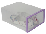 Most Popular Household Storage Plastic Fold up Boxes with Handle