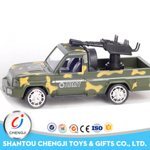 New low price four channel remote control 1 16 r c jeep with light and gun toy for sale