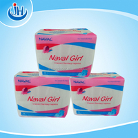 Naval Girl sanitary napkin with bule chip and wings for female day or night use