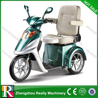 With reverse fuction three wheels electirc tricycle/three wheel scooter with pedal