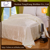 2015 luxury 100%silk quilt by handmade, 100%cotton Jacquard cover