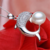 single pearl pendant 9mm AAA sterling silver freshwater pearl pendant