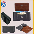 Customize Horizontal Belt Clip Leather For Galaxy S7 Edge For Galaxy Note 7 Pouch