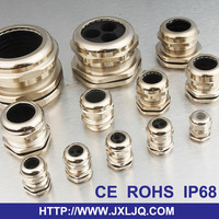 3 holes type IP68 multiple insert cable gland Metric PG NPT G gland sizes