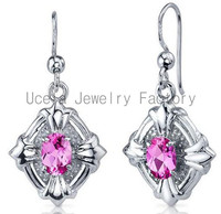 2014 Trend Sterling Silver Summer Jewelry Wholesale indian chandelier drop discounted earring