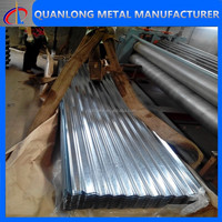 z100 dx51d galvanized corrugated steel roofing tiles