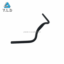 Custom Fabrication Top Supplier OEM Black Anodized 7075 Aluminum Tube Bent Bike Spare Parts