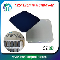Monocrystalline siilicon Sunpower solar cell 125*125