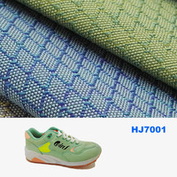 waterproof fabric tear resistant 100% polyester oxford fabric for sports shoes