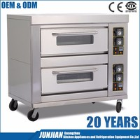 Restaurant Ovens And Bakery Equipment 2-Layer 6-Tray Industrial Size Baking Ovens