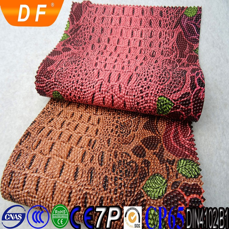 Fashional rainbow raw snake skin for bag