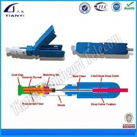 Hot Sale Top Quality FTTH SC LC Fiber Optic Connector Adaptor