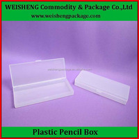 Colored Europe standard box gift packing box rectangle plastic pen box