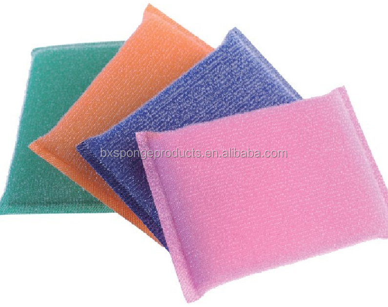Colorful Dish Pad Dish Sponge pads with pp fibre