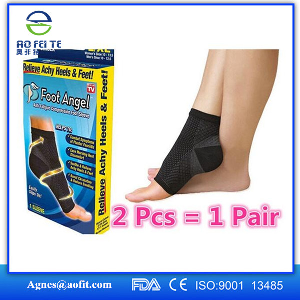 Hot Sale Ankle Foot Elastic Brace/ Support/ Elastic Ankle Sleeve