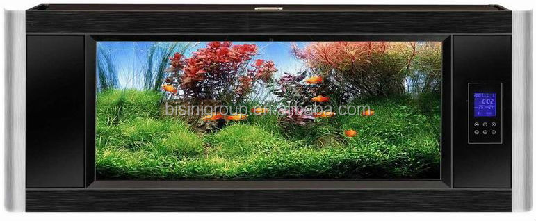 Bisini Aluminum Wall Hung Fish Aquarium dinning room decoration furniture (BF09-41053)