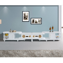 home furniture lcd TV stand with showcase