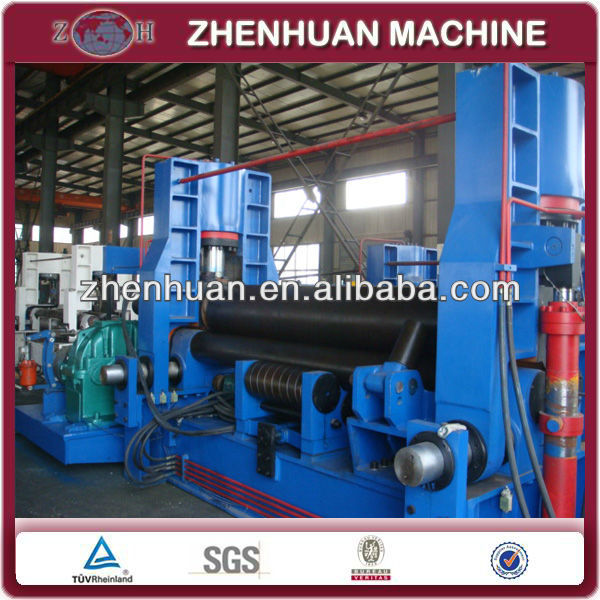 3 rolls small sheet roller bending machine