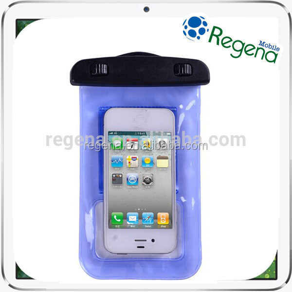 Best discount high quality pvc phone waterproof case for iphone 4,4s,5,5s, samsung galaxy s3,s4,s5