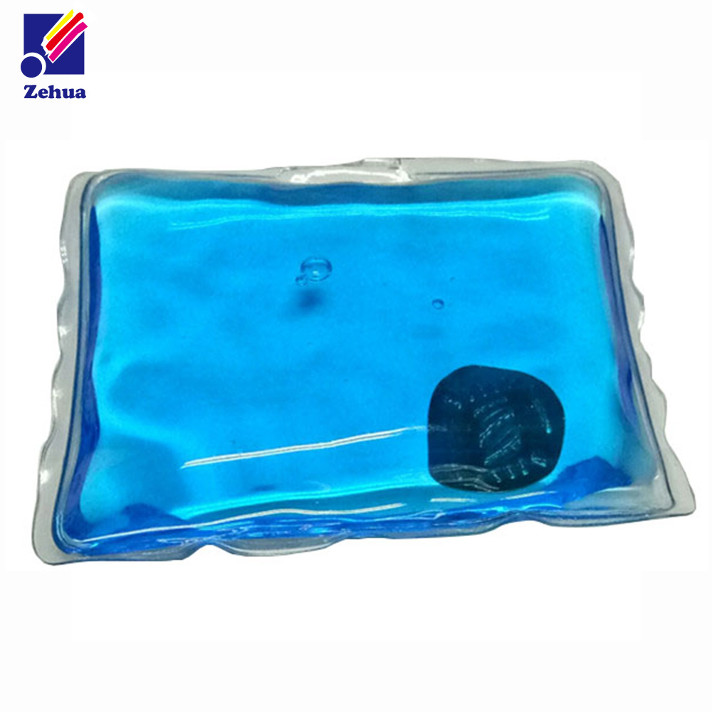 Square shape Reusable gel instant hot pack for warm hand