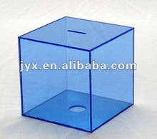 neptune blue acrylic money boxes for savings
