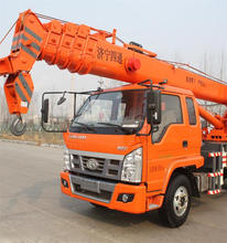 10 ton hydraulic mobile swing crane,10 ton crane mounted on Foton/Tking truck chassis