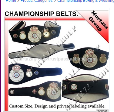 Boxing / Wrestling Championship belts Martial Art, Kick Boxing, Grappling, UFC, MMA, Sports Fantasy