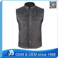 Wholesale Vest for Men Leather Vest Factory Price