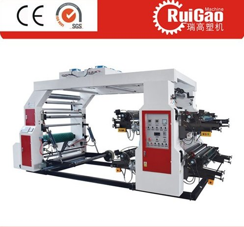 Plastic Bag Four Colors Printing Machine with High Quality