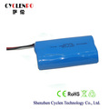 Li ion battery testing 7.4V 3000mah battery, 18650 battery rechargeable
