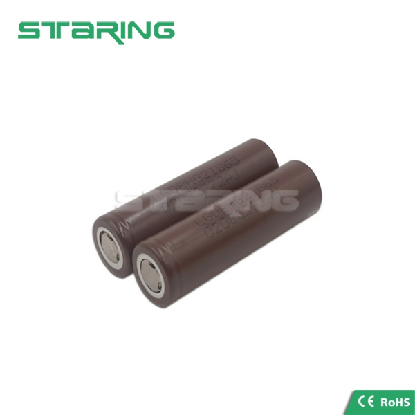 Hot selling LG HG2 18650 battery 3.7v 3000 mah with high power for e cig