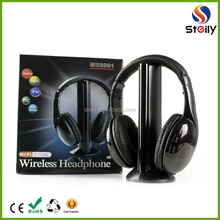 5 IN 1 Wireless TV headphone with bluetooth function