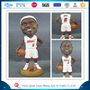 Polyresin Customized Resin LeBron James NBA Bobblehead Doll Statue,NBA LeBron James Bobble Head