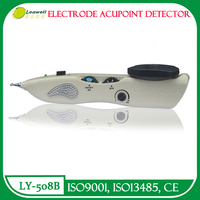 CE Digital LCD diplay electrode acupressure device with auto acupoint detection for hand leg body meridian stimulate homeuse set