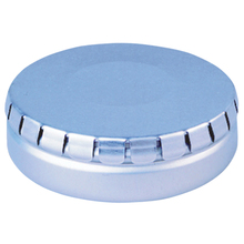 High Quality Small round Metal Click Clack Tin Box for mint candy
