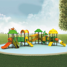 Used Large Kids Slides Tube Children Plastic Outdoor Playground Equipment for Sale