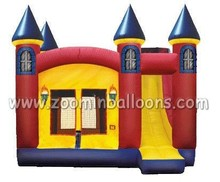 China New inflatable combo,inflatable jumping castle with slide Z2002