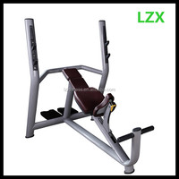 LZX-2031gym equipment incline bench chest exercise bench olympic weight bench