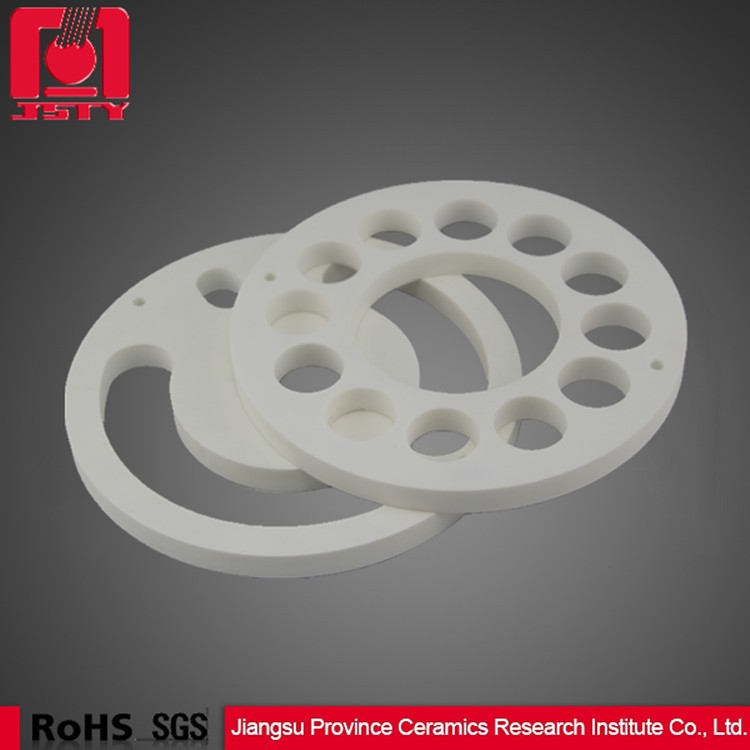 standard structural part ceramic grinding disc set used in filter
