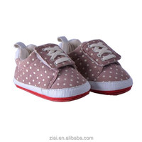 TPR outsole baby shoes customer print canvas sports shoes