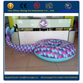 inflatable mermaid tail float tube
