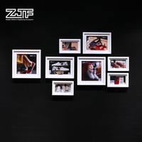 ZJF White love picture frame Funny photo wood frame