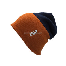 Hot selling China factory promotion acrylic beanie custom cheap knit argyle hat fancy beanie hat