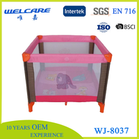 Square Big Baby Travel Folding Playpen